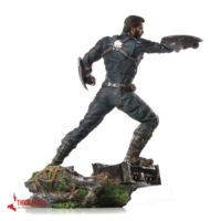 اکشن فیگور کاپیتان آمریکا آیرون استودیو Action figure capitan america Iron Studios