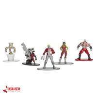 نانو فیگور فلزی نگهبانان کهکشان پک 5 تایی جادا Metals Nano Steel Marvel 5-Pack Fig Guardians of the Galaxy