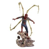اکشن فیگور اسپایدرمن برند دایموند سلکت تویز سری اونجرز جنگ ابدیت Action Figure Spiderman Diamond Select Toys Series Avengers Infinity war