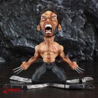 اکشن فیگور وولورین لوگان ایکس من X-Men Wolverine Logan 17cm Figure Statue Anger Face