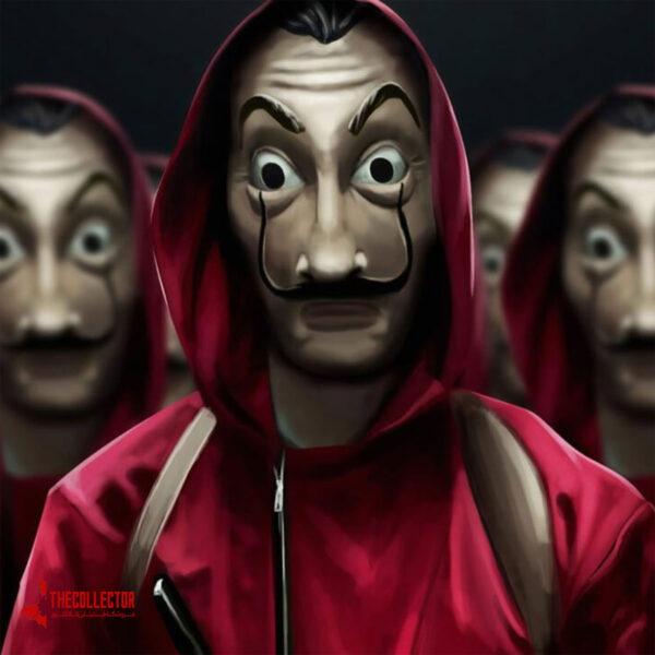 ماسک سالوادو دالی و سریال money heist